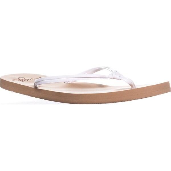 eda0d8ebbd25 Shop Roxy Lahaina Skinny Flip Flops