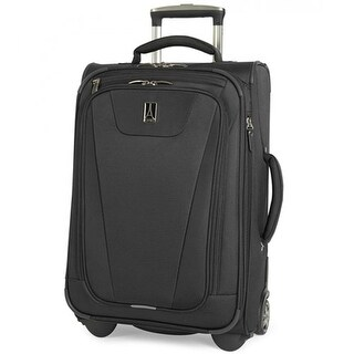 "Travelpro Maxlite 4 - Black 22"" Polyester Fabric Expandable Rollaboard w/ Water Resistant Coating"