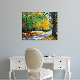 Easy Art Prints Graham Gercken's 'Vibrant Autumn' Premium Canvas Art