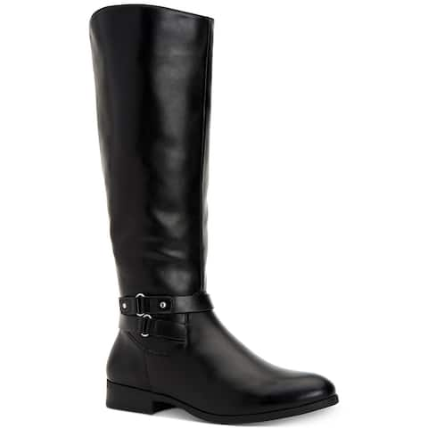 Style & Co. Womens Kindell Closed Toe Knee High Fashion Boots