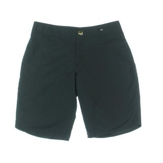 Jag Womens Solid Flat Front Casual Shorts - S