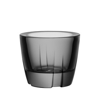Kosta Boda Votive and Trinket Bowl, Smoke Grey