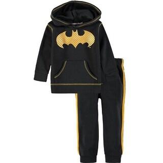 DC Comics Boys 2T-4T Batman Jog Set - grey