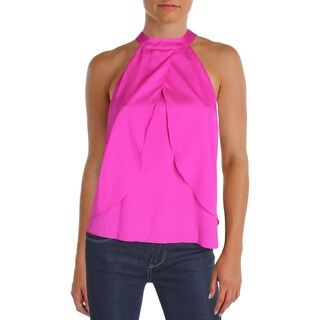 Aqua Womens Halter Top Cut-Out Flyaway (3 options available)