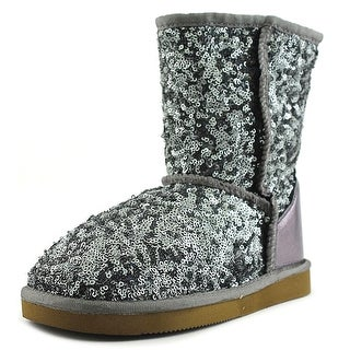 Pegia Karies Youth Round Toe Synthetic Mid Calf Boot