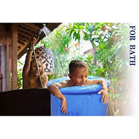 Portable Plastic Bathtub Inflatable Tubs Inflatable Spa Soaking Tub For Adult Bathroom Pets