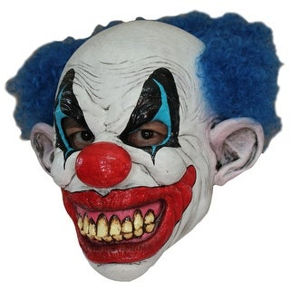 Puddles The Evil Clown Horror Costume Mask - standard - one size