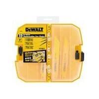 DeWalt DW4890 15 Piece Reciprocating Saw Blade Set