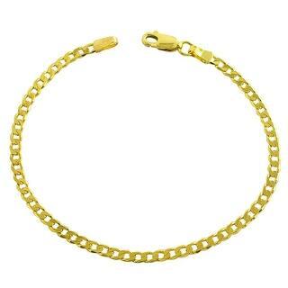 Shop 14k Gold 10-inch Braided Foxtail Link Ankle Bracelet ...