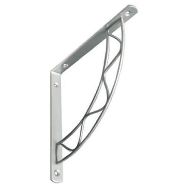 Knape & Vogt 200S-SN-8 Stockton Design Shelf Bracket, 8 Satin Nickel