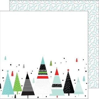"Oh Joy Double-Sided Cardstock 12""X12-Merry And Bright"