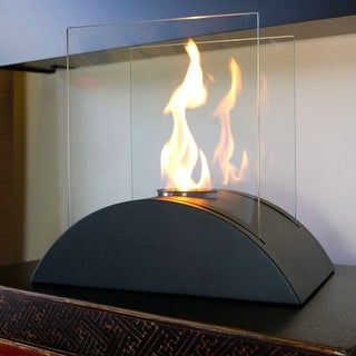 Nu-Flame NF-T2ESO ESTRO Tabletop Portable Ethanol Fireplace - Black