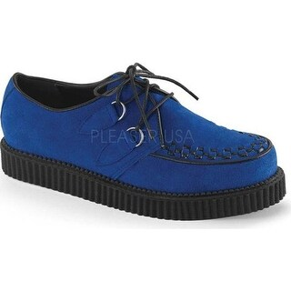 Demonia Men's Creeper 602S Royal Blue Suede