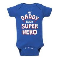 Daddy Superhero - Infant One Piece
