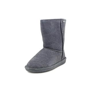 Bearpaw Emma Short Round Toe Suede Winter Boot