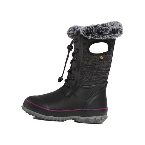 Bogs Outdoor Boots Girls Arcata Lace Up Insulated Waterproof