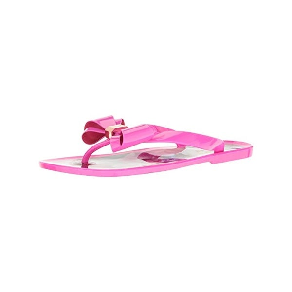 87c31c5275b37c Shop Ted Baker Womens Rueday Flip-Flops Jelly Bow - Free Shipping ...