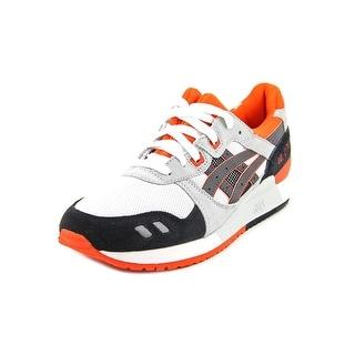 Asics Gel-Lyte III Men Round Toe Suede White Running Shoe
