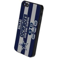 Dallas Cowboys Commemorative Hard Snap-On Apple iPhone 5 & 5S Case