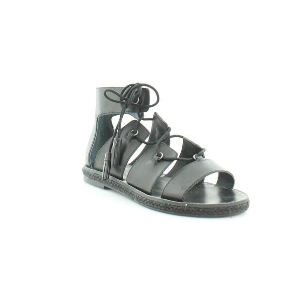 Lucky Brand Dristel Women's Sandals & Flip Flops Black - 7