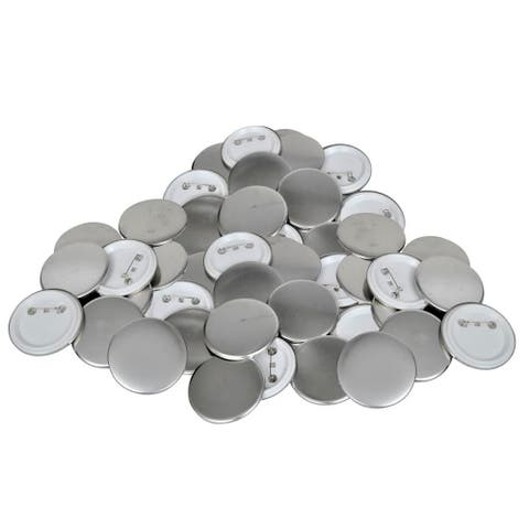 """500 pcs 1"""" Pinback Button Parts Set Badge Tool for Use with Button Badge Maker"""