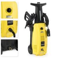 Arksen 3000 PSI Burst Power Electric High Pressure Washer 2000 Watt Motor, YELLOW