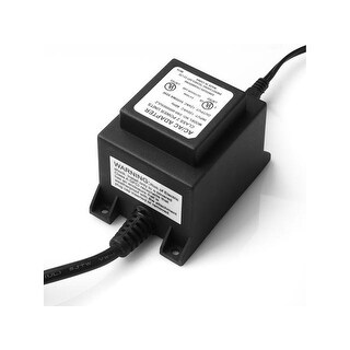 AGPTEK 60W Waterproof Voltage Transformer Power Converter Supply 110/120V to AC 12V For 12V Swimming Pool light