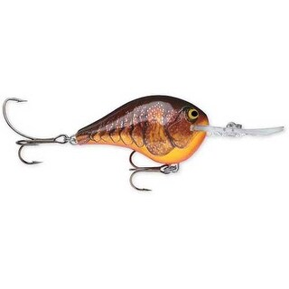 Rapala DT Series Dark Brown Crawdad