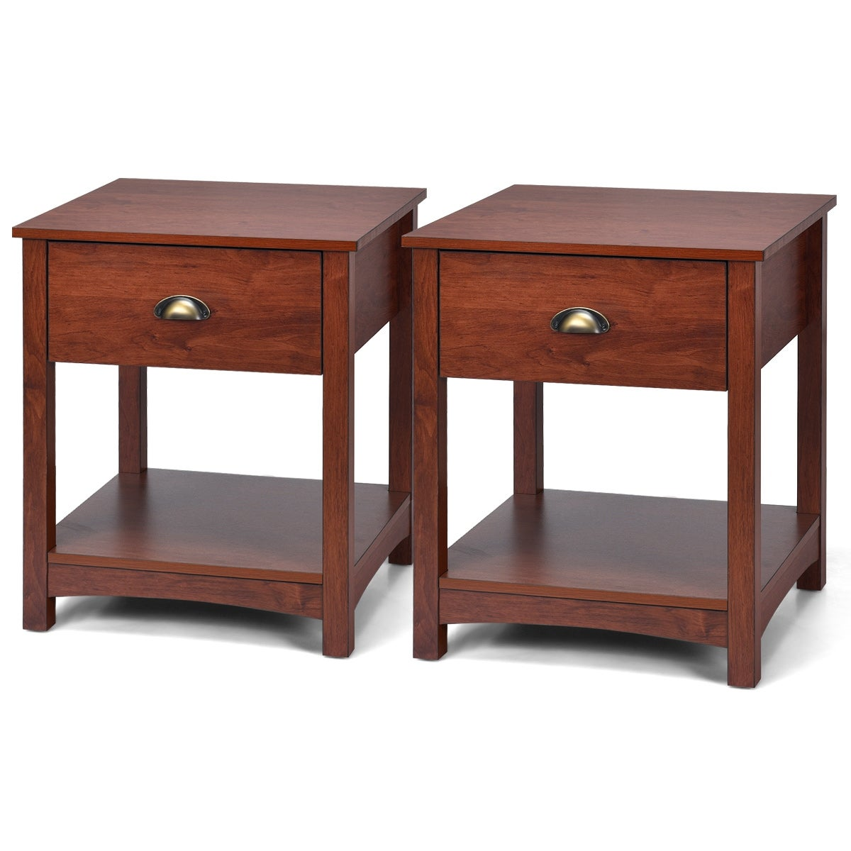 Night Stand Bedside Table Sofa Chair Side End Tables Bedroom Nightstand Set Of 2 Nightstands Home Garden Worldenergy Ae