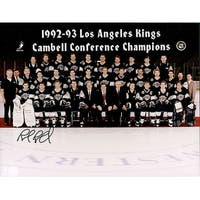 Signed Blake Rob Los Angeles Kings 8x10 Photo autographed