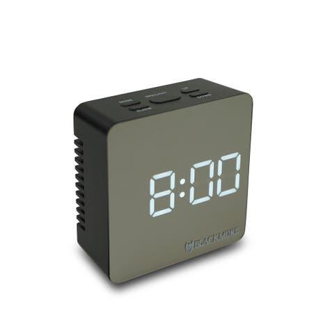 LED Alarm Clock with Temperature Display
