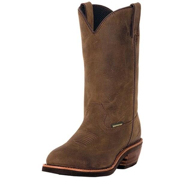 Dan Post Work Boots Mens Albuquerque Steel Toe Waterproof Tan