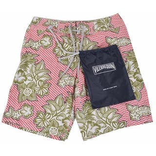 Vilebrequin Men's Red Green Scale Flower Trunks Board Shorts SMALL - S|https://ak1.ostkcdn.com/images/products/is/images/direct/74a9168f656436e8ba8af827af3421db5c45c18e/Vilebrequin-Men%27s-Red-Green-Scale-Flower-Trunks-Board-Shorts-SMALL.jpg?impolicy=medium