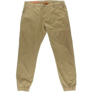 Dockers Mens Twill Banded Bottom Jogger Pants