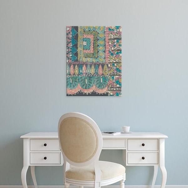 Easy Art Prints Chariklia Zarris's 'Bohemia II' Premium Canvas Art