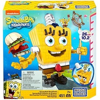 Mega Blocks 451-Piece SpongeBob SquarePants Block Construction Set