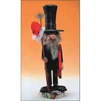 "14"" Zims Heirloom Collectibles Chimney Sweep Christmas Nutcracker"