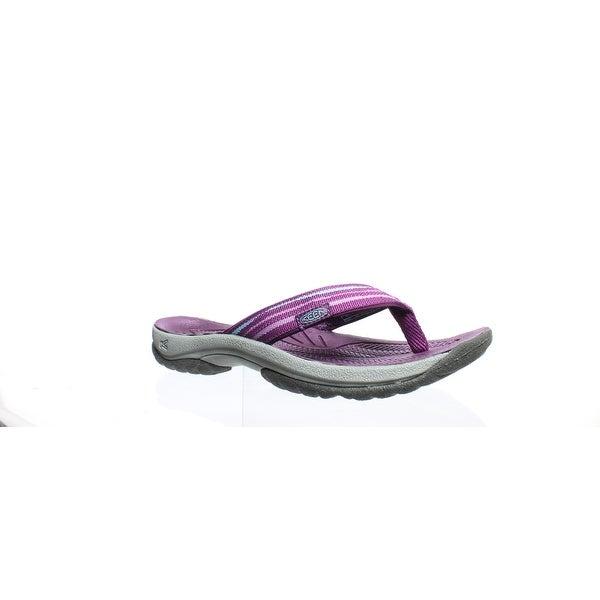 32a4b074f Shop KEEN Womens Kona Flip Purple Flip Flops Size 10.5 - On Sale ...