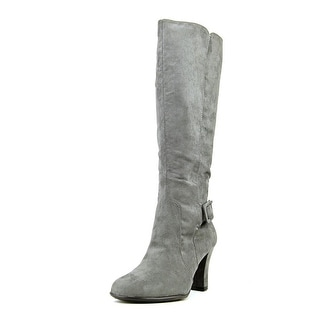 A2 By Aerosoles Money Role W Round Toe Canvas Knee High Boot