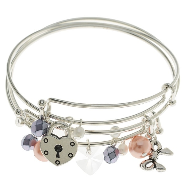 Sweetheart Bangle Bracelet Set - Exclusive Beadaholique Jewelry Kit