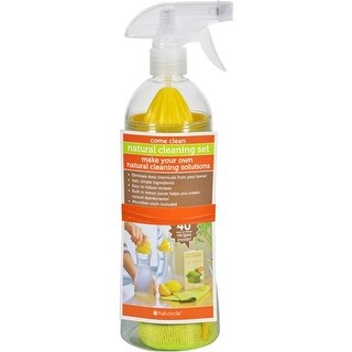 """Full Circle Home Spray Bottle Come Clean Reusable Containers"""