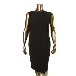 Lauren Ralph Lauren Womens Plus Textured Slit Wear to Work Dress - 20W