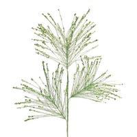 "Pack of 12 Light Green Long Needle Pine Sprays 30"""