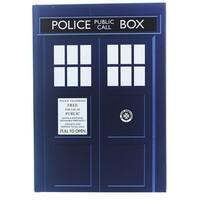 Doctor Who TARDIS Standard Notebook - multi