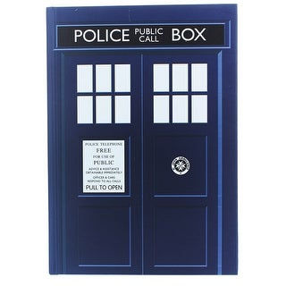 Doctor Who TARDIS Standard Notebook - multi