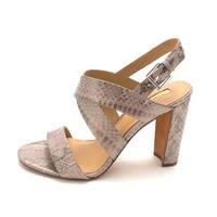LAUREN by Ralph Lauren Womens Kaila Leather Open Toe Casual Slingback Sandals