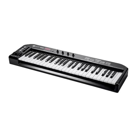 Monoprice MIDI Keyboard Controller - Black 49 Key - Stage Right Series