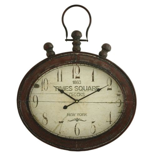 Aspire Home Accents 5990 Remington Oval Wall Clock