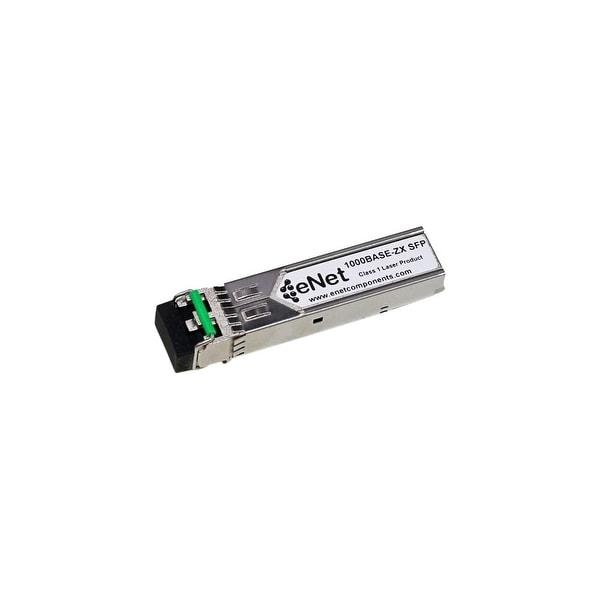 ENET SFP-1GE-LH-ENC Juniper Compatible SFP-1GE-LH 1000BASE-ZX SFP 1550nm 80km DOM Duplex LC SMF 100% Tested Lifetime warranty