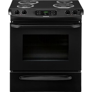 Frigidaire FFES3015P 30 Inch 4.6 Cu. Ft. Slide-In Electric Range with Self Clean Oven, Ready-Select&reg Controls and Auto Oven